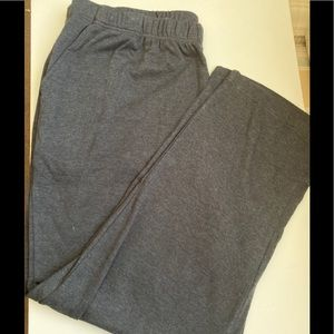 Ladies grey stretch pants 2X(26/28)by Woman Within